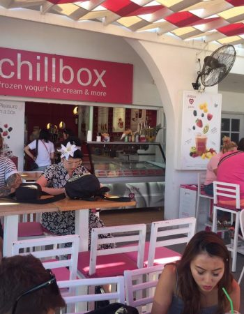 Chillbox Greek Frozen Yogurt Santorini