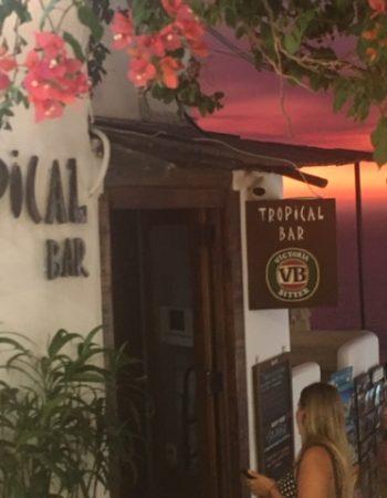 Tropical Bar Santorini