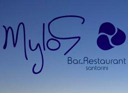 Mylos Santorini Ad Logo